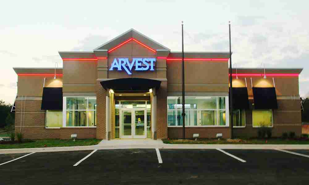 Commercial Construction - Arvest Bank